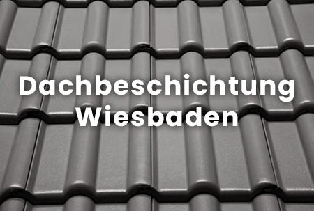 Frisch beschichtetes Dach in Wiesbaden