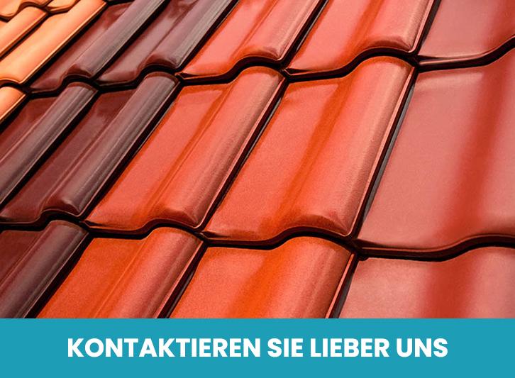 Verschiedene Farben der Dachbeschichtung bei Bautenschutz Schramm